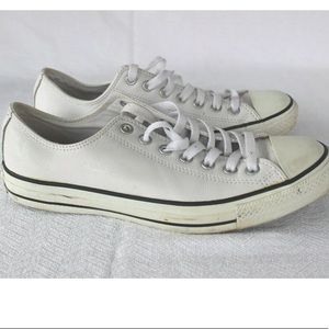 Converse All Star 100% Leather white 9M